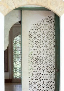 Jali or perforated screen (Photo: Tim Street-Porter, 2011)